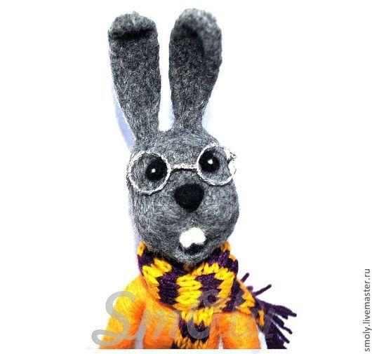 войлочная игрушка,кролик,зайчик,валяная игрушка,сухое валяние,купить валяную игрушку,подарок,сувенир,подарок на любой случай,кролик из шерсти ,кролик игрушка,авторская игрушка,интерьерная игрушка,валя