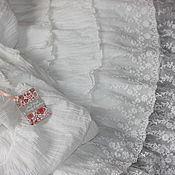 Юбки ручной работы. Ярмарка Мастеров - ручная работа Нижняя юбка в бохо стиле прованс винтаж, 2 ряда кружева. Handmade.