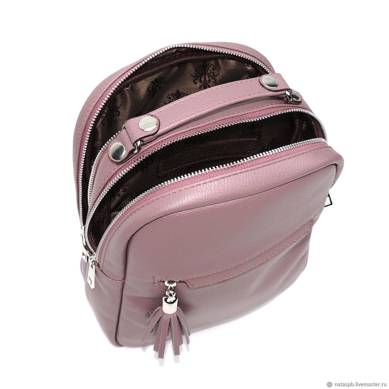 3403dfd253ea Buy Backpacks handmade. Backpack women s leather purple Ein. Natalia  Kalinovskaya. My Livemaster.Backpack