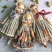 Куклы и игрушки ручной работы. Ярмарка Мастеров - ручная работа Куклы в антикварном стиле 2. Handmade.