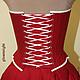 Order Historical corset Wedding set. Gleamnight fashion-studio. Livemaster. . Corsets Фото №3