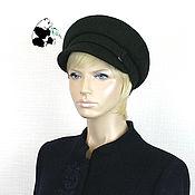 Аксессуары handmade. Livemaster - original item Stylish women`s cap cap made of cashmere. Two colors. №1. Handmade.