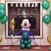 Подарки к праздникам ручной работы. Ярмарка Мастеров - ручная работа Микки Маус из воздушных шариков. Handmade.