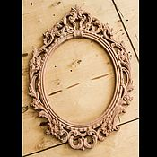 Для дома и интерьера ручной работы. Ярмарка Мастеров - ручная работа Резная рама, зеркало. Handmade.