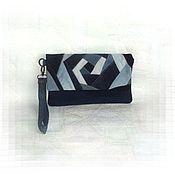Сумки и аксессуары ручной работы. Ярмарка Мастеров - ручная работа Джинсовая сумка Crazy Style клатч. Handmade.