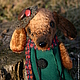 Мишки Тедди ручной работы. Заказать Тетушка Соня). Лялечкины мишки (Nonafuma). Ярмарка Мастеров. Коричневый, тедди собака