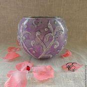 Для дома и интерьера handmade. Livemaster - original item Candle holder vase,Moonlight,. Handmade.