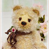 Куклы и игрушки ручной работы. Ярмарка Мастеров - ручная работа Мия мишка Тедди из мохера. Handmade.