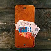 Сумки и аксессуары ручной работы. Ярмарка Мастеров - ручная работа Кошелек Cash and card. Handmade.