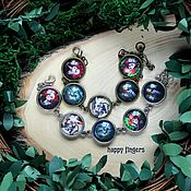 Украшения handmade. Livemaster - original item Bracelet Alice in Wonderland Cheshire. Handmade.