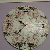 Часы ручной работы. Ярмарка Мастеров - ручная работа Часы настенные. Handmade.