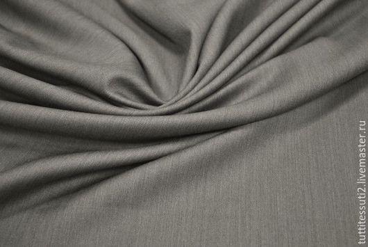 Шитье ручной работы. Ярмарка Мастеров - ручная работа. Купить Костюмная ткань 05-003-1949. Handmade. Серый