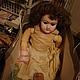 Винтажные куклы и игрушки. Ярмарка Мастеров - ручная работа. Купить Антикварная кукла. Handmade. Бежевый, любимая игрушка, фарфор