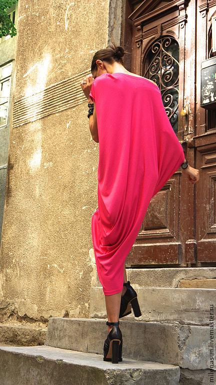 платье, платье в пол, длинное платье, летнее платье, Ярмарка Мастеров
