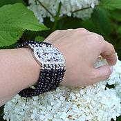 Украшения handmade. Livemaster - original item Bracelet BLACK SPINLE handmade author`s work. Handmade.