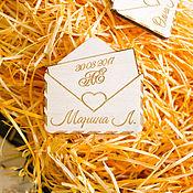 Магниты ручной работы. Ярмарка Мастеров - ручная работа Подарки гостям свадьбы. Handmade.