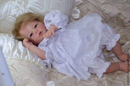 Куклы-младенцы и reborn ручной работы. Ярмарка Мастеров - ручная работа. Купить Кукла реборн Альбина. Handmade. Кукла реборн