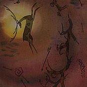 """Аксессуары ручной работы. Ярмарка Мастеров - ручная работа Шарф """"Каменный век"""". Handmade."""