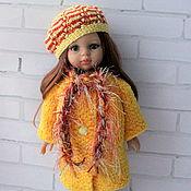 Куклы и игрушки ручной работы. Ярмарка Мастеров - ручная работа Комплект с шубкой на куклу 32-34 см. Handmade.