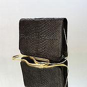 Сумки и аксессуары handmade. Livemaster - original item Handbag made of Python ELEVENIA. Handmade.