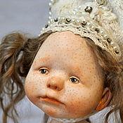 """Куклы и пупсы ручной работы. Ярмарка Мастеров - ручная работа """"Маленькая Снегурочка"""" авторская кукла. Handmade."""