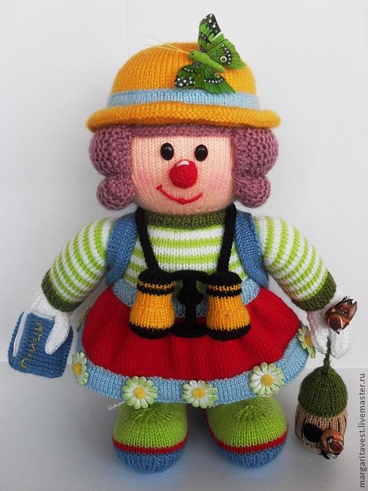 Человечки ручной работы. Ярмарка Мастеров - ручная работа. Купить Юная путешественница. Handmade. Вязаная игрушка, кукла, ручная работа