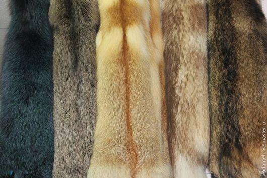 Шитье ручной работы. Ярмарка Мастеров - ручная работа. Купить Шкурки лисы сибирской. Handmade. Оранжевый, мех натуральный