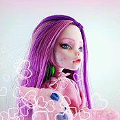 """Куклы и игрушки ручной работы. Ярмарка Мастеров - ручная работа Ооак Ула """" Розовые сны"""". Handmade."""