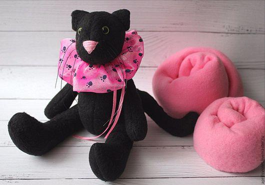 Куклы Тильды ручной работы. Ярмарка Мастеров - ручная работа. Купить Черный кот. Handmade. Черный, подарок, милый, черное