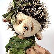 Куклы и игрушки ручной работы. Ярмарка Мастеров - ручная работа Жанни- Жаночка ежик тедди. Handmade.