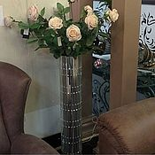 Для дома и интерьера handmade. Livemaster - original item Floor vase, large. Handmade.
