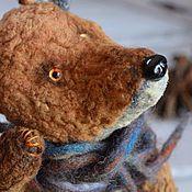 Куклы и игрушки ручной работы. Ярмарка Мастеров - ручная работа лисёнок.... Handmade.