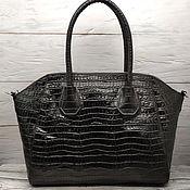 Классическая сумка ручной работы. Ярмарка Мастеров - ручная работа Женская сумка из натуральной кожи/замши. Handmade.