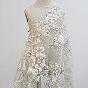 Материалы для творчества handmade. Livemaster - original item Royal wedding 3 D lace Elizabeth. Handmade.