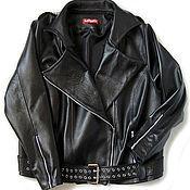 Одежда handmade. Livemaster - original item Women`s leather jacket to order. Handmade.