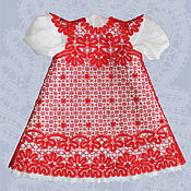 Одежда handmade. Livemaster - original item Lace dress for a 3-year-old girl. Handmade.