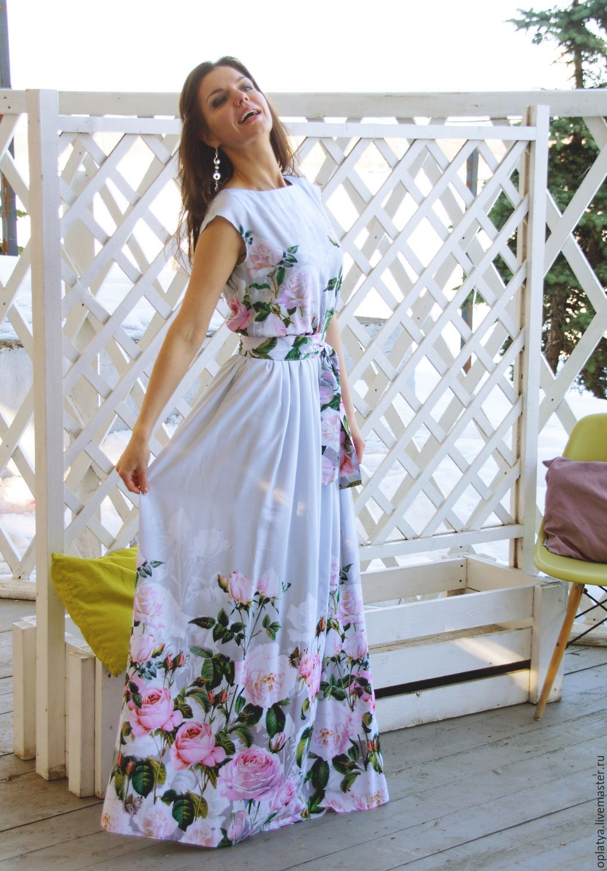 Купить Длинное Летнее Платье В Пол В Интернет
