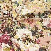 Ткани ручной работы. Ярмарка Мастеров - ручная работа Ткань хлопок  стрейч  Цветы , цветы. Handmade.