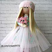 Куклы и игрушки ручной работы. Ярмарка Мастеров - ручная работа Кукла текстильная Милана. Handmade.