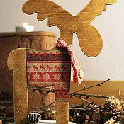 Подарки к праздникам ручной работы. Ярмарка Мастеров - ручная работа Прянично-коричный лосяш. Handmade.