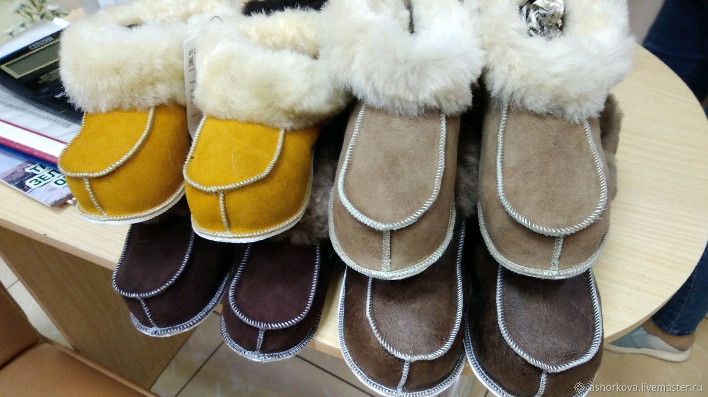 Adult fur socks, Slippers, Cheboksary,  Фото №1