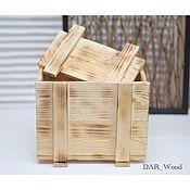 Для дома и интерьера handmade. Livemaster - original item Wooden box with lid gift packaging. Handmade.
