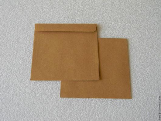 Упаковка ручной работы. Ярмарка Мастеров - ручная работа. Купить Крафт конверт для CD-диска. Handmade. Конверт, крафт конверт