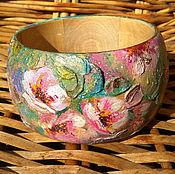 """Украшения ручной работы. Ярмарка Мастеров - ручная работа Браслет """"Весенний цвет"""". Handmade."""