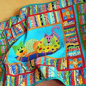Для дома и интерьера ручной работы. Ярмарка Мастеров - ручная работа детское лоскутное покрывало    КОШКИ КОТЯТА КОТЫ    покрывало детское. Handmade.
