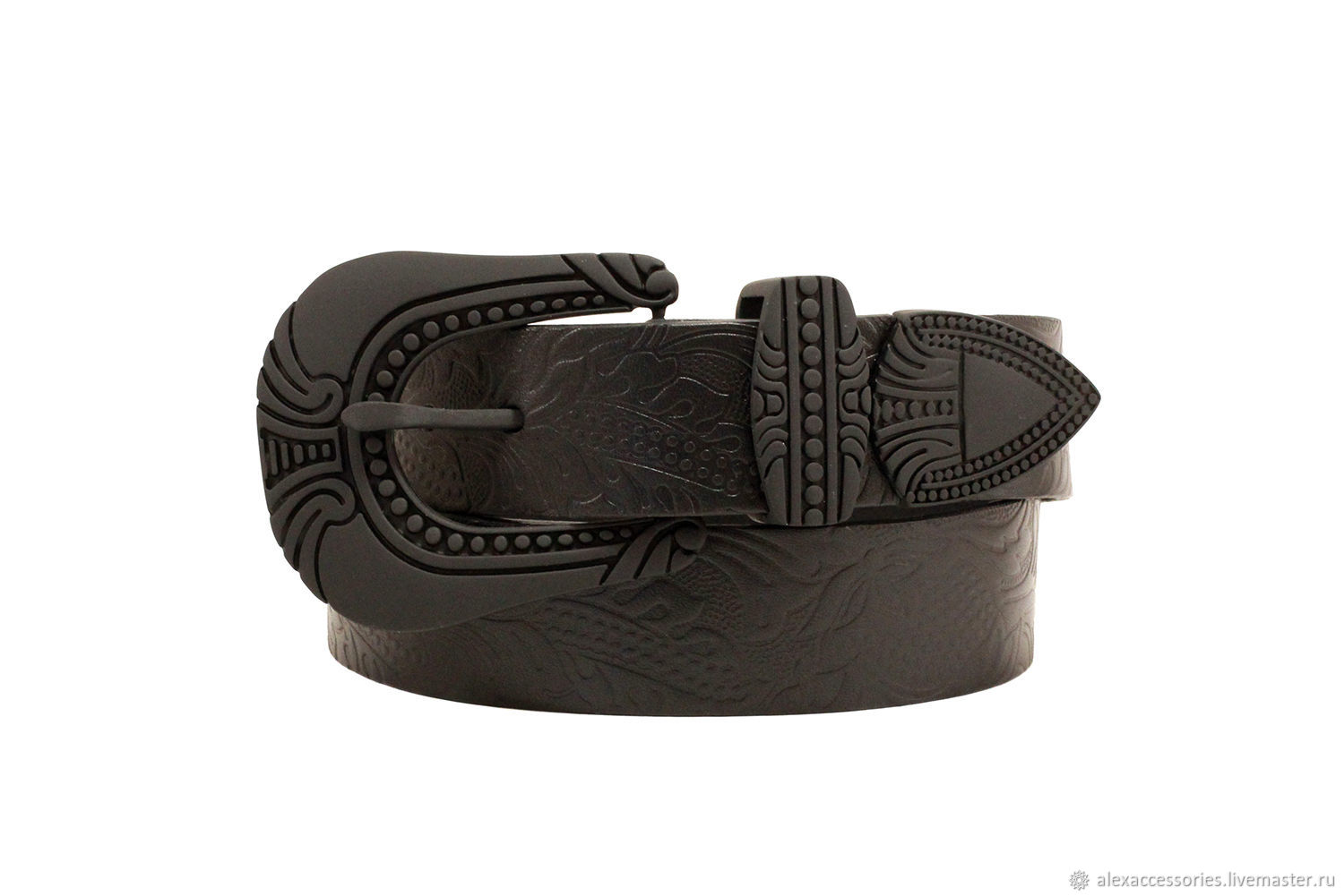 Copy of Womens Western double buckle belt, Straps, Moscow,  Фото №1