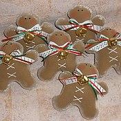 Куклы и игрушки ручной работы. Ярмарка Мастеров - ручная работа пряничный человечек. Handmade.
