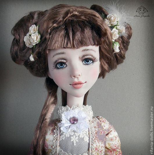 Коллекционные куклы ручной работы. Ярмарка Мастеров - ручная работа. Купить Алина. Handmade. Бледно-розовый, ручная работа