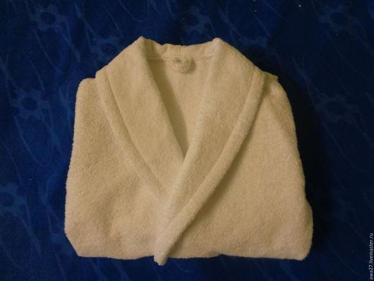 Халаты ручной работы. Ярмарка Мастеров - ручная работа. Купить Махровый халат. Handmade. Белый, махровый халат, халат