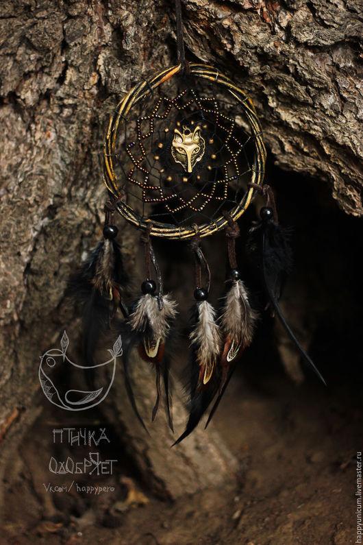 """Ловцы снов ручной работы. Ярмарка Мастеров - ручная работа. Купить Ловец снов """"Слышащий голос предков"""". Handmade."""